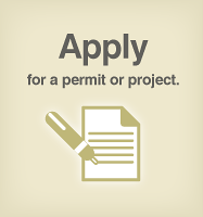 ONLINE APPLICATIONS Planning will accept certain applications online: Preliminary Project Assessment Certificate of Appropriateness, Permit to Alter, Federal Section 106 Environmental General Plan