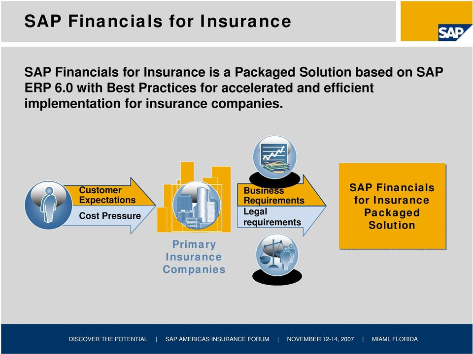 0 with Best Practices for accelerated and efficient implementation for insurance