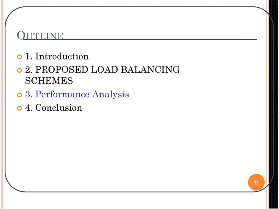 PROPOSED LOAD BALANCING