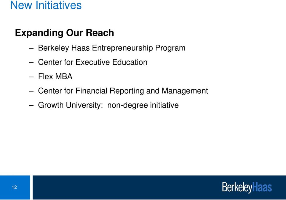 Education Flex MBA Center for Financial Reporting