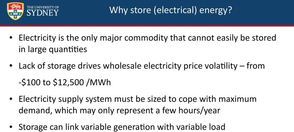 of storage drives wholesale electricity price volatility from -$100 to $12,500 /MWh