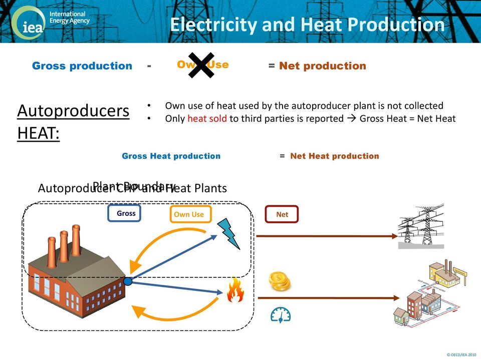 plant is not collected Only heat sold to third parties is reported Gross Heat =