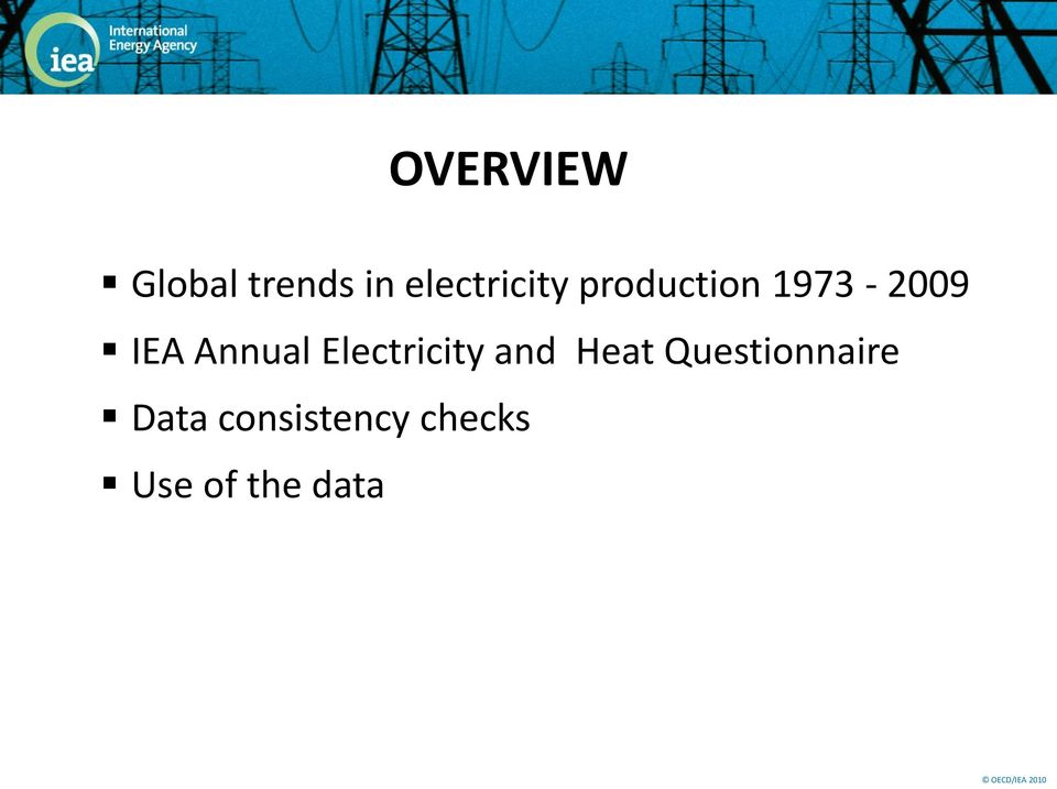 IEA Annual Electricity and Heat