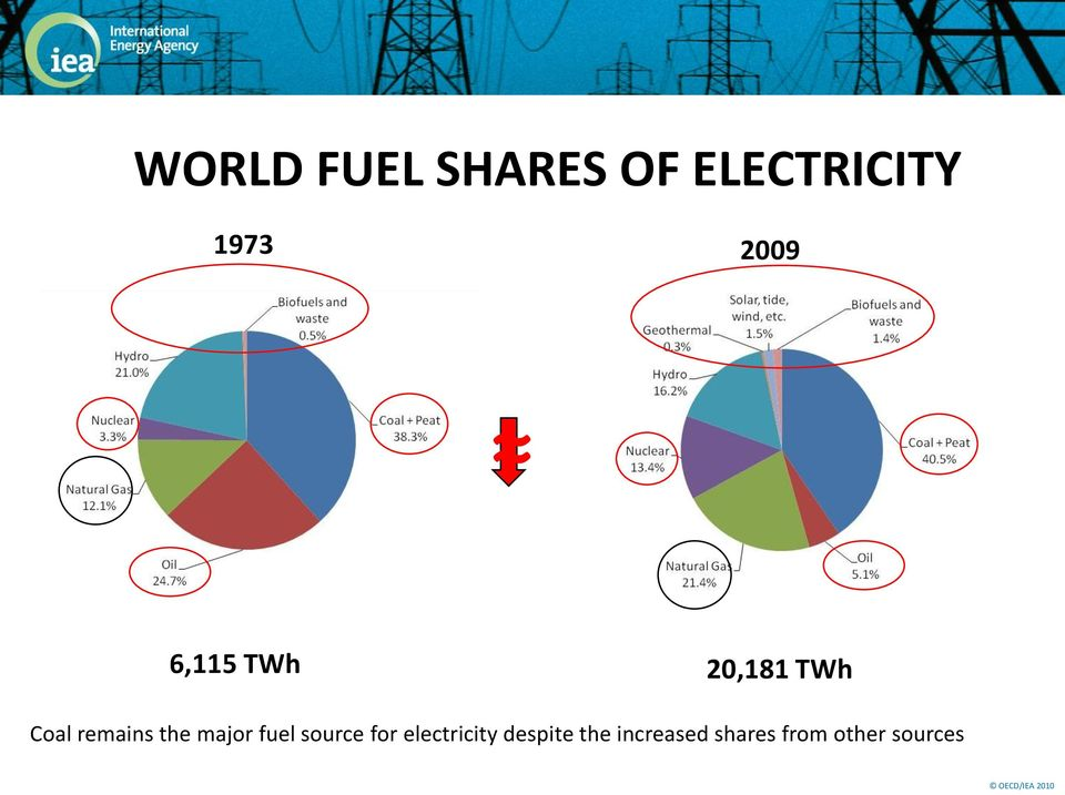 the major fuel source for electricity