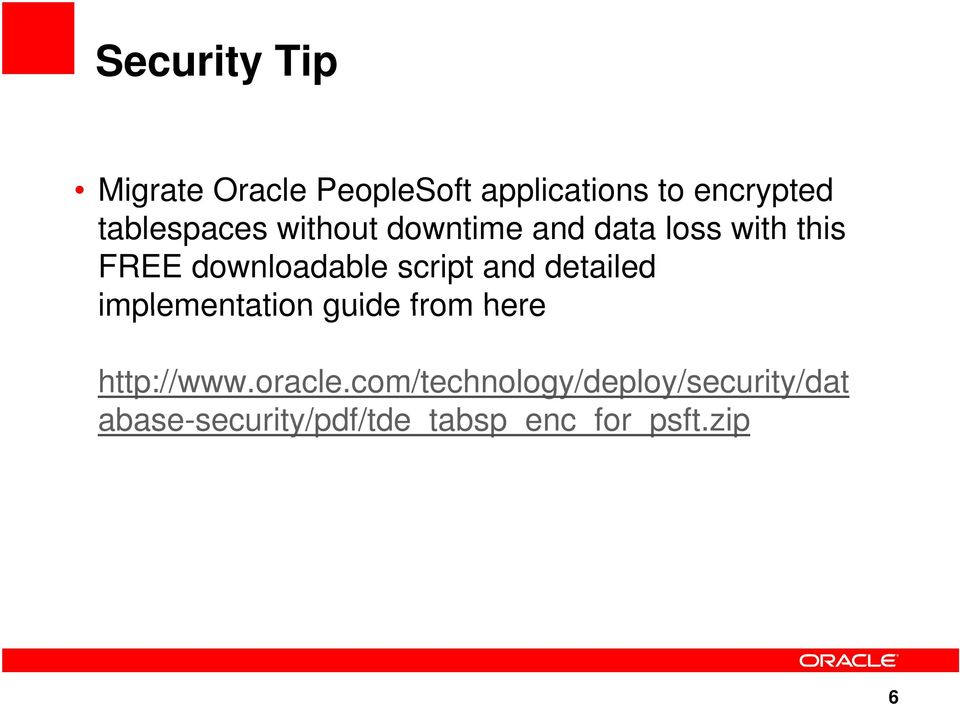 script and detailed implementation guide from here http://www.oracle.