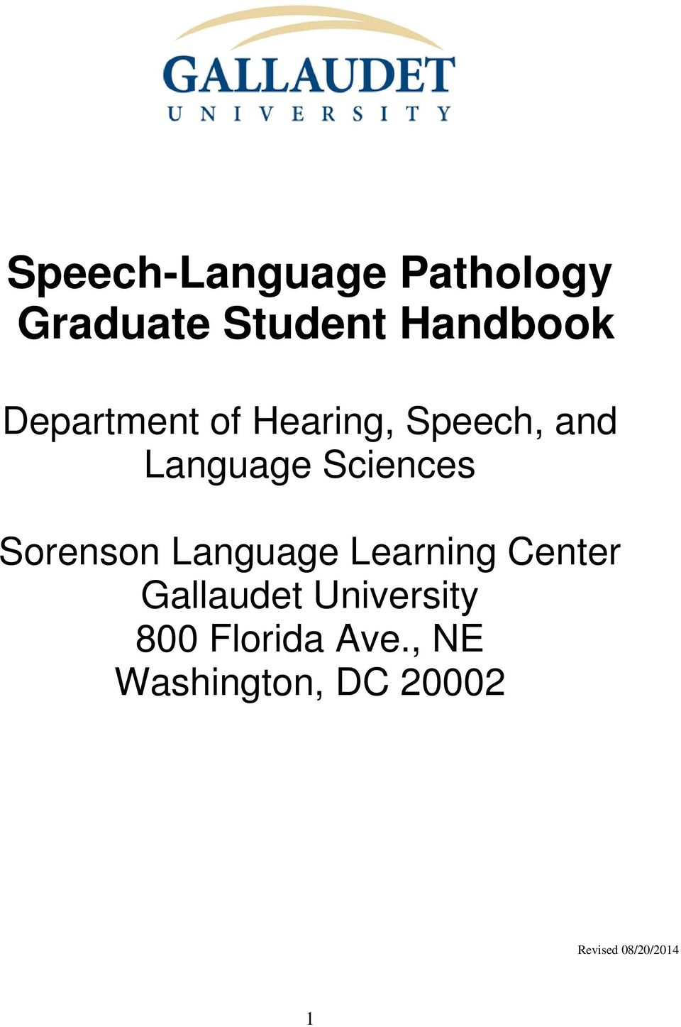 Sorenson Language Learning Center Gallaudet University