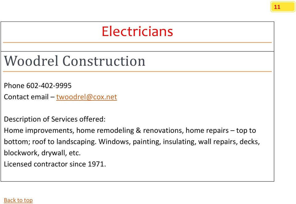 net Home improvements, home remodeling & renovations, home repairs top to