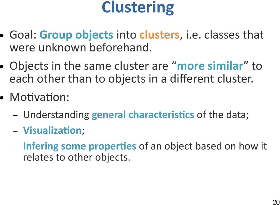 different cluster.