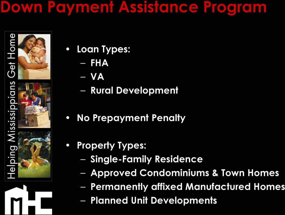 Single-Family Residence Approved Condominiums & Town