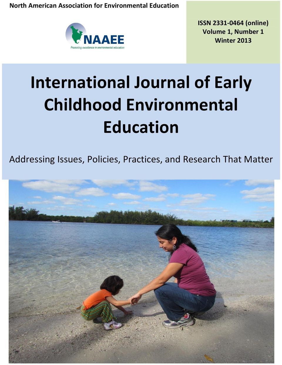 International Journal of Early Childhood Environmental