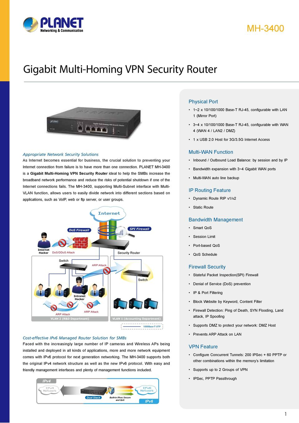 5G Access Appropriate Network Security Solutions As becomes essential for business, the crucial solution to preventing your connection from failure is to have more than one connection.