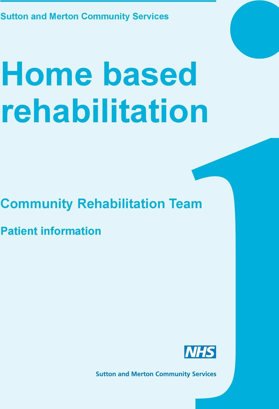 rehabilitation Community