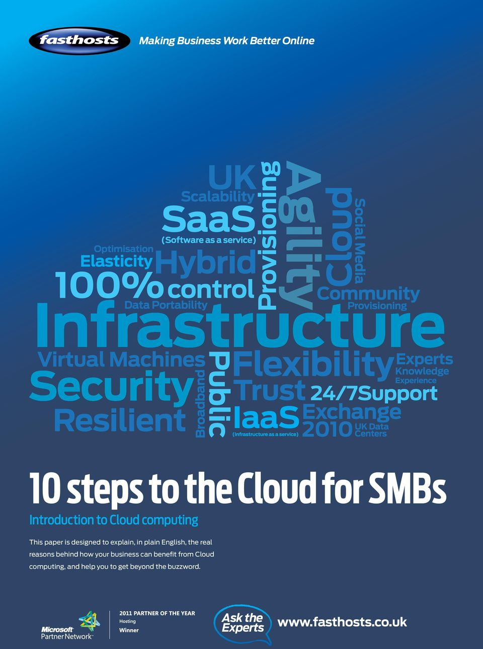 reasons behind how your business can benefit from Cloud computing,