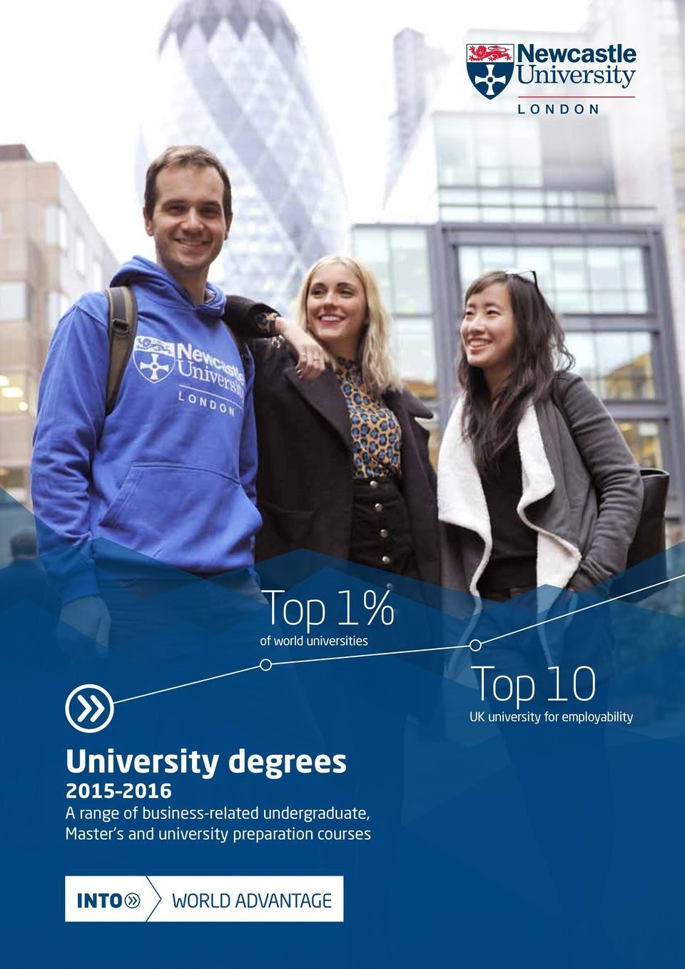 degrees 2015 2016 A range of business-related