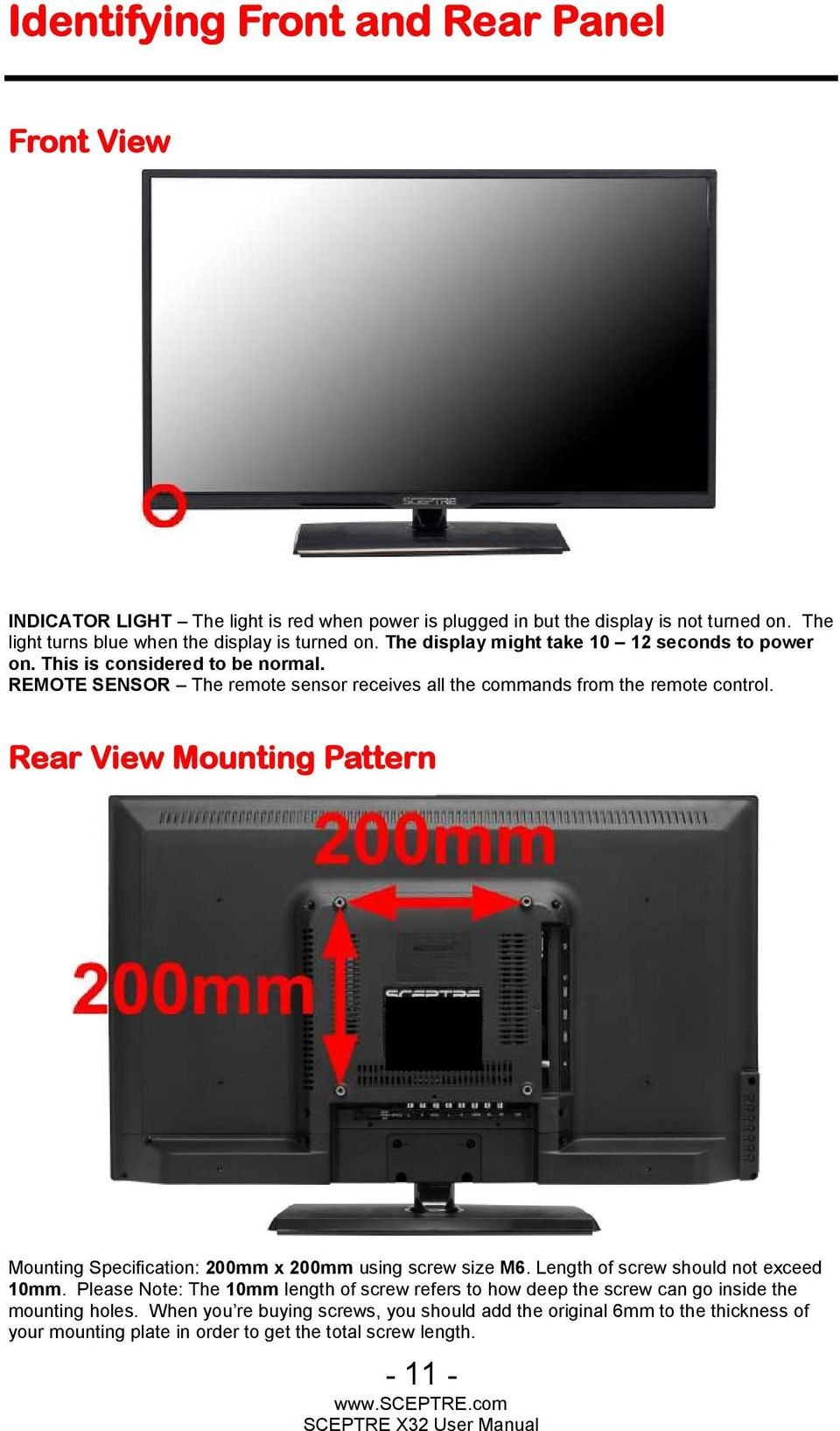 vizio hdtv40a manual