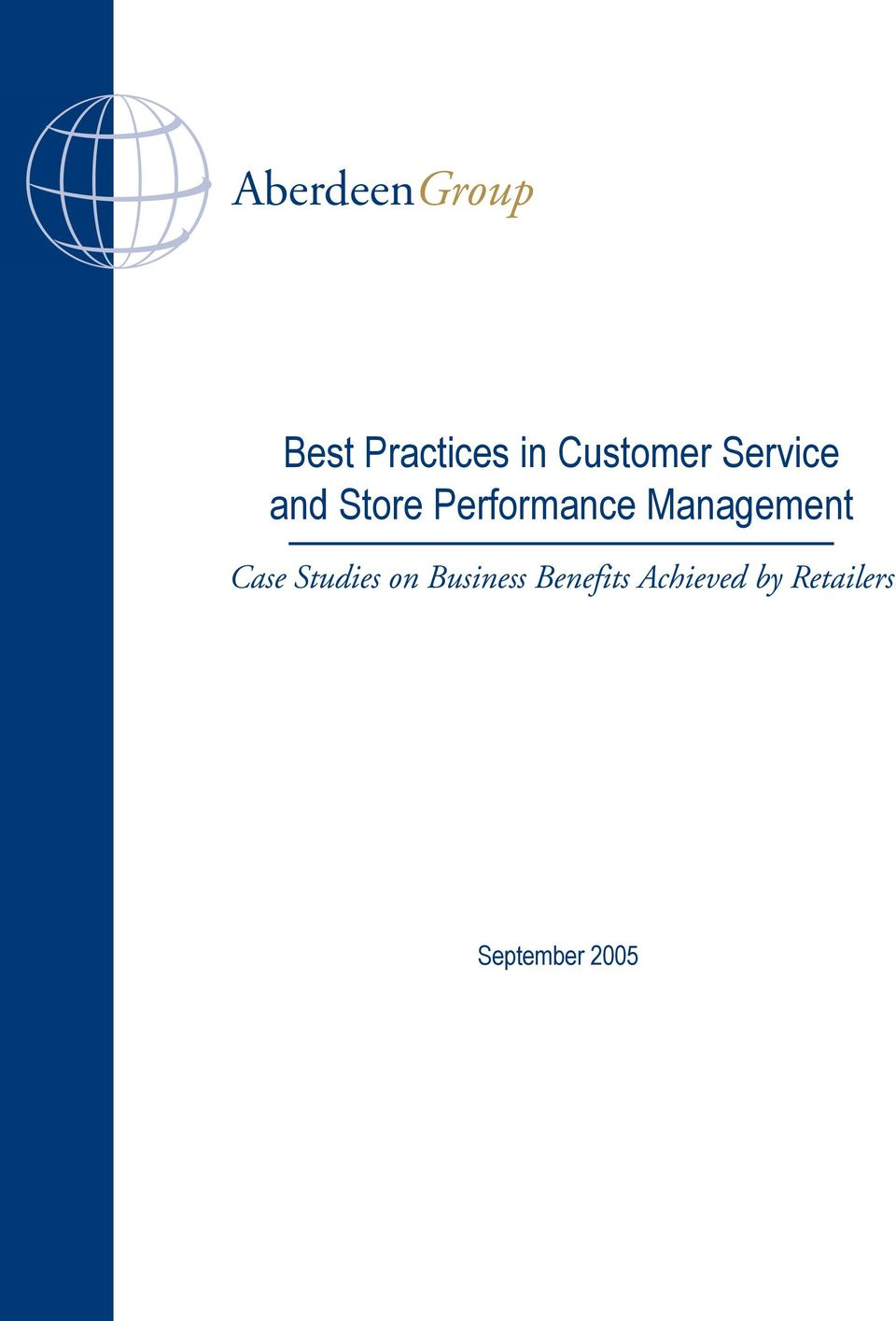 Performance Management Case Studies