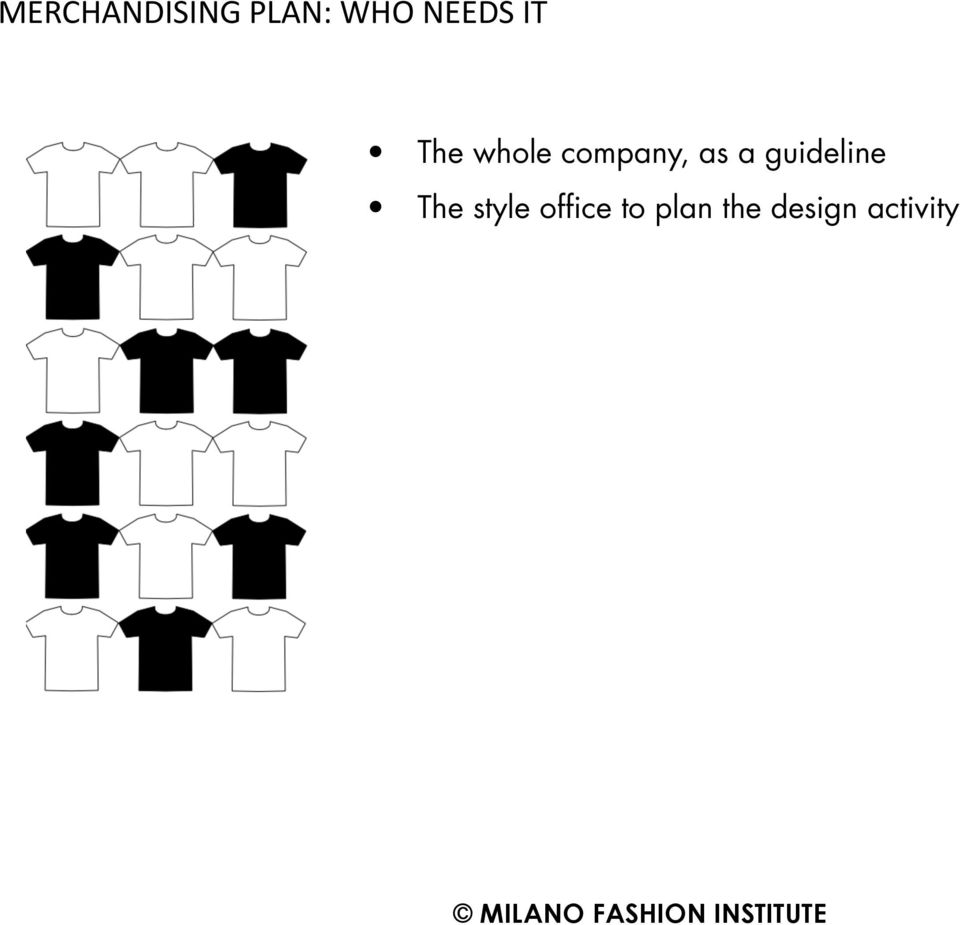 as a guideline The style