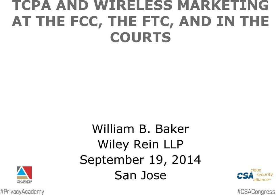 COURTS William B.