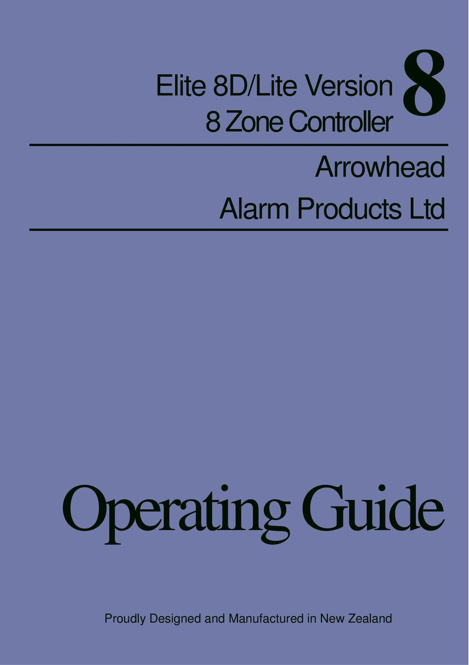 Products Ltd Operating Guide 1