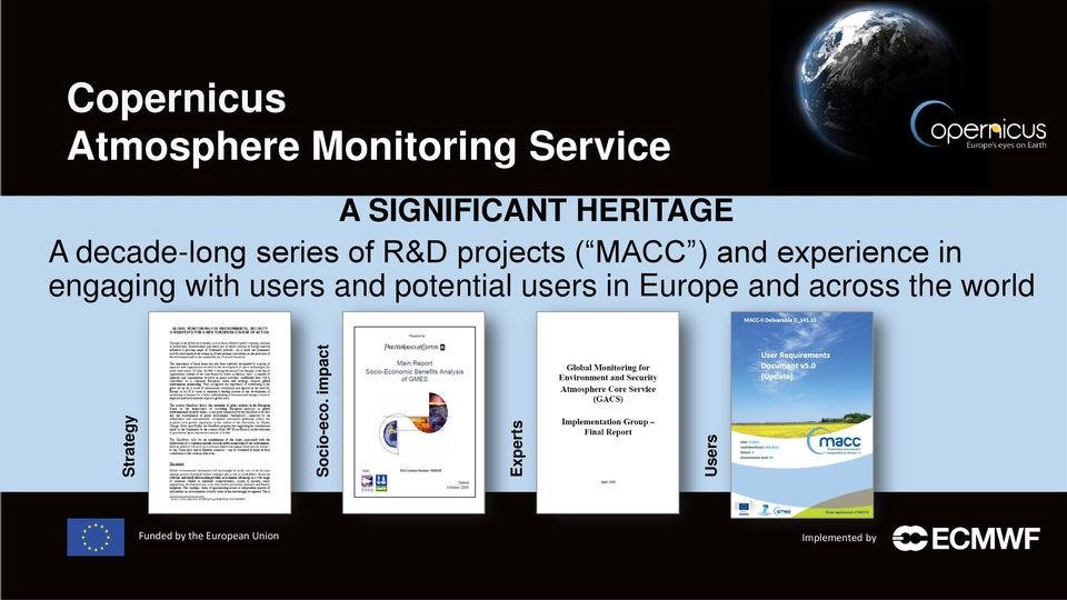 Service A SIGNIFICANT HERITAGE A decade-long series of R&D