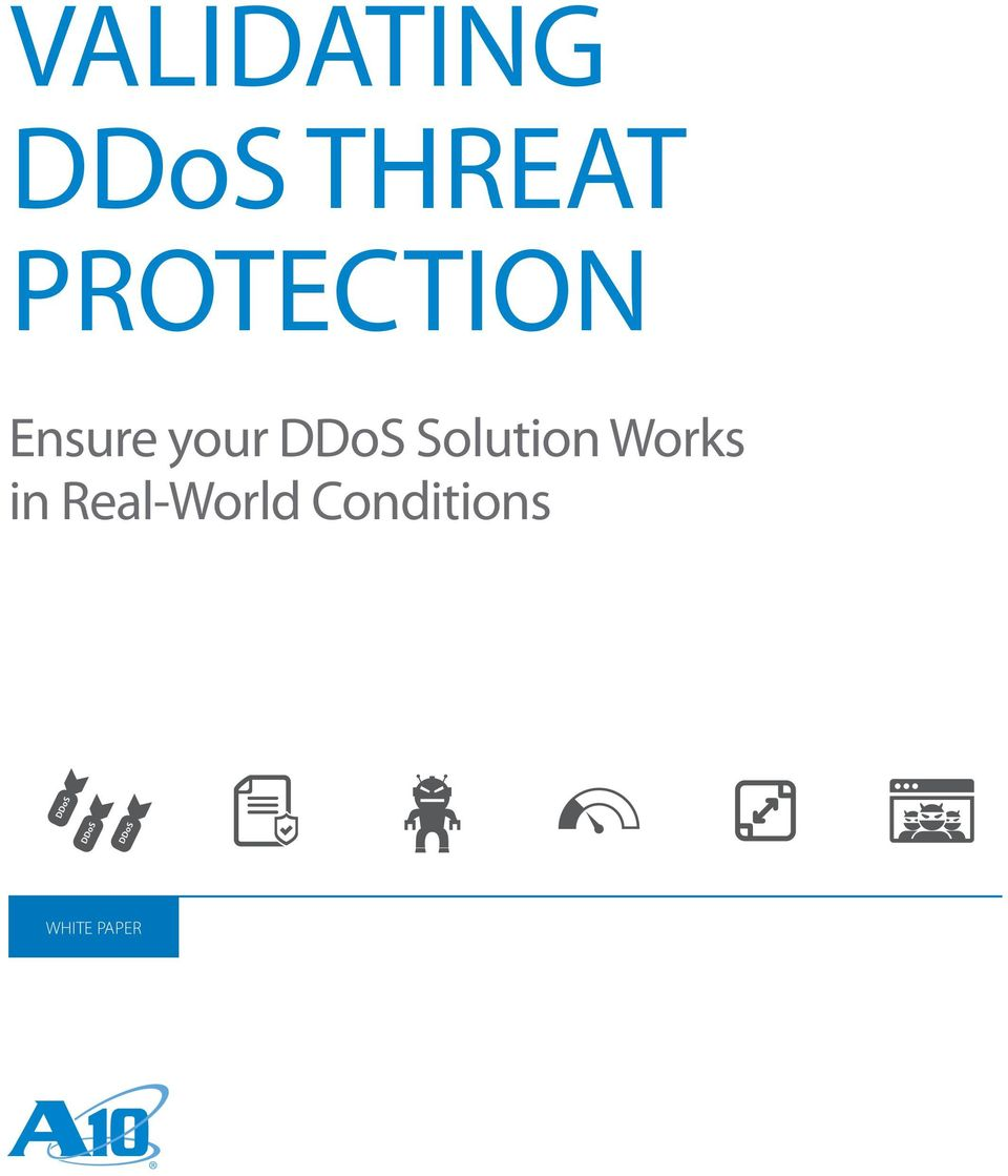DDoS Solution Works in