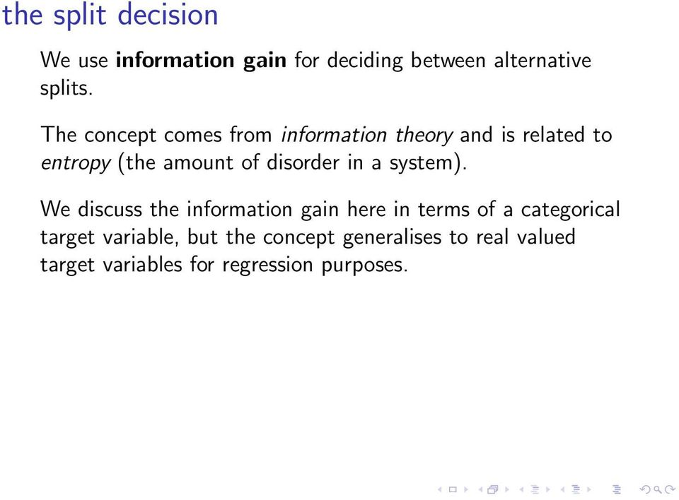 disorder in a system).