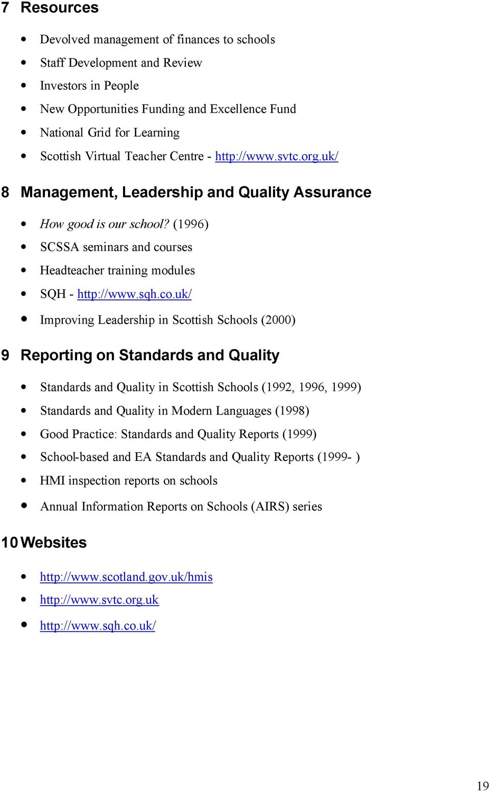 rses Headteacher training modules SQH - http://www.sqh.co.