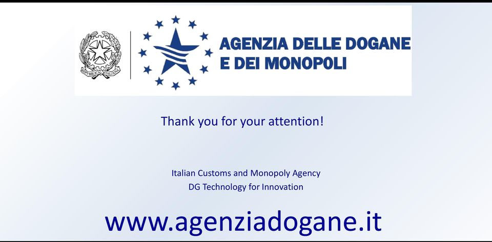 Agency DG Technology for
