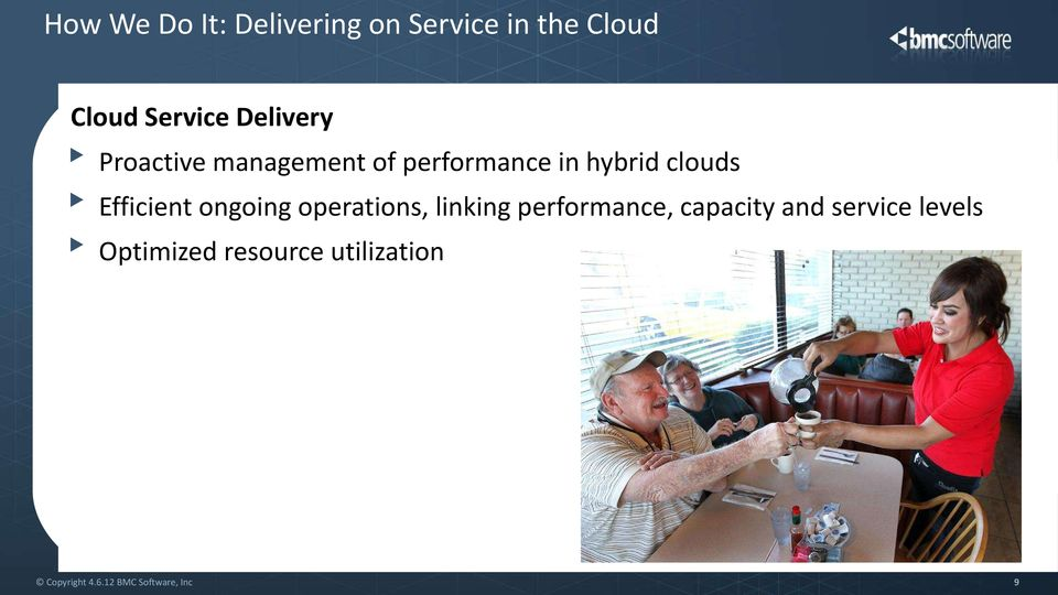 hybrid clouds Efficient ongoing operations, linking