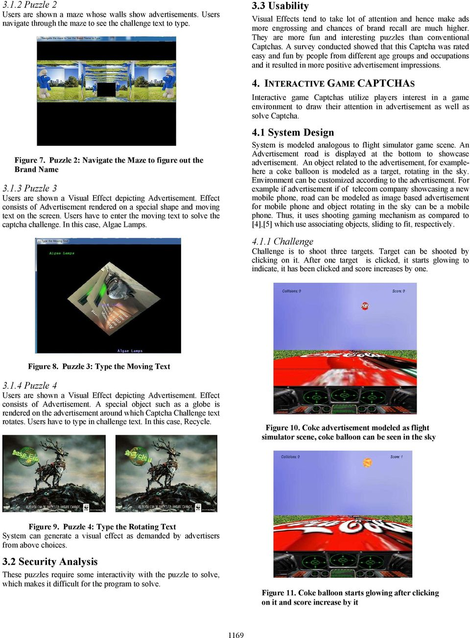Animated CAPTCHAs and Games for Advertising - PDF