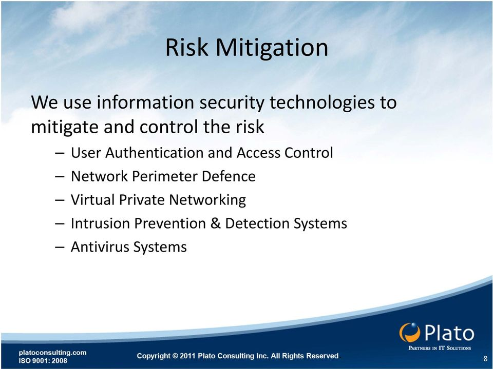 Control Network Perimeter Defence Virtual Private Networking