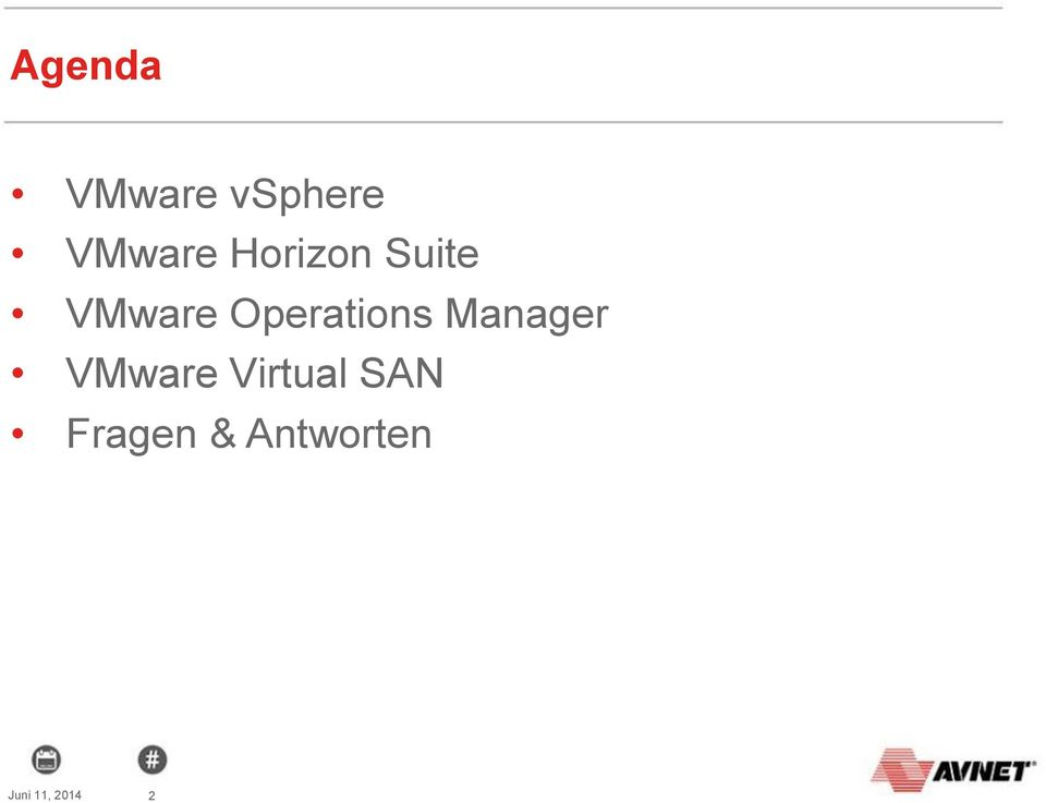 Operations Manager VMware