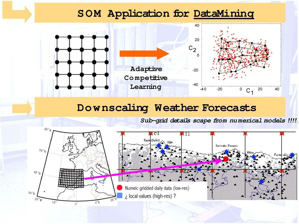 Downscaling Weather Forecasts