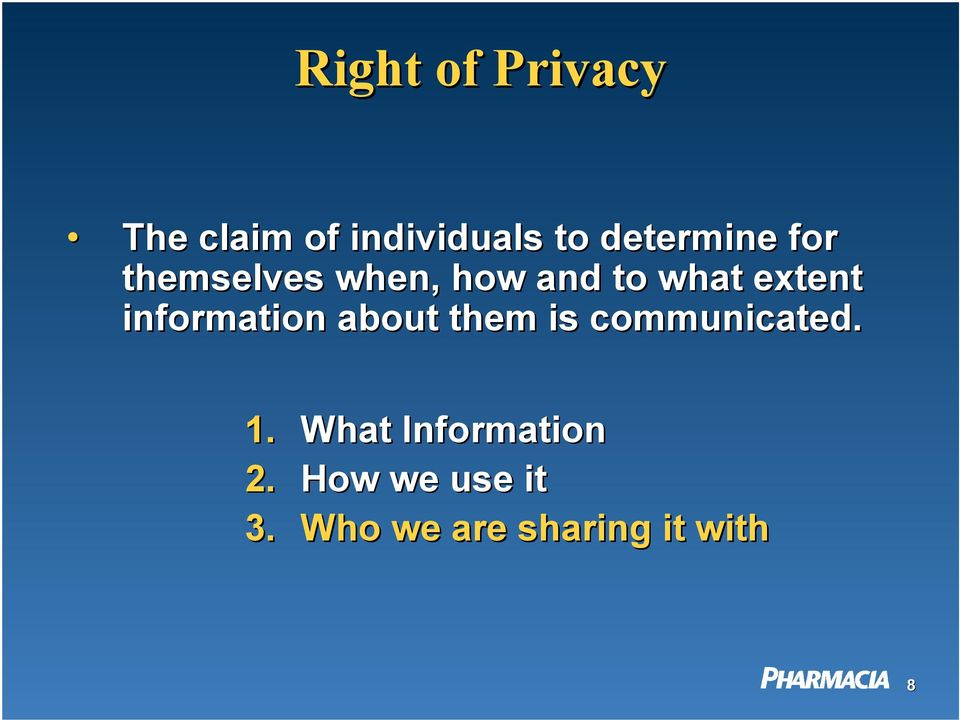 extent information about them is communicated. 1.