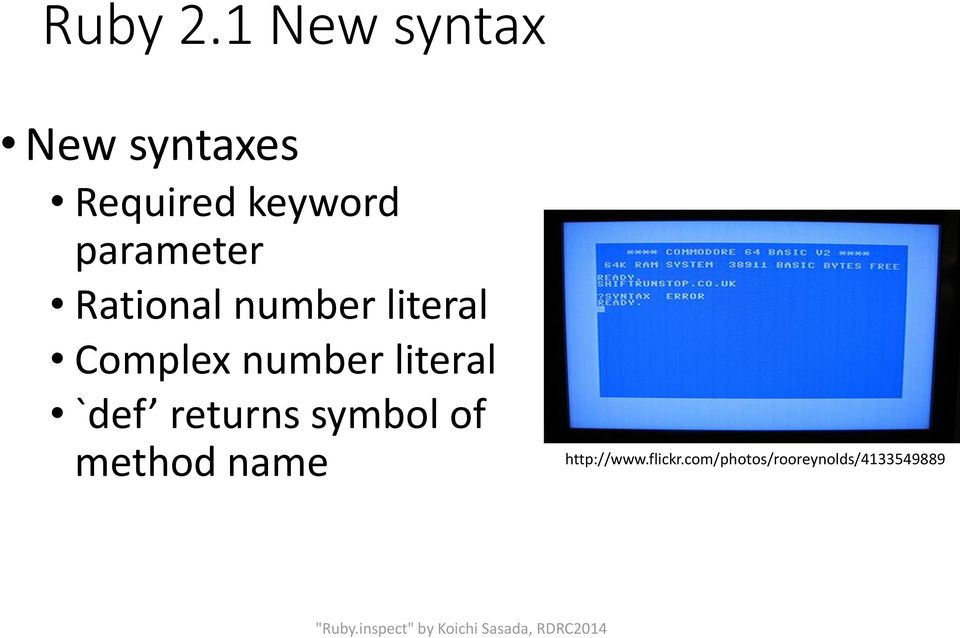 parameter Rational number literal Complex number