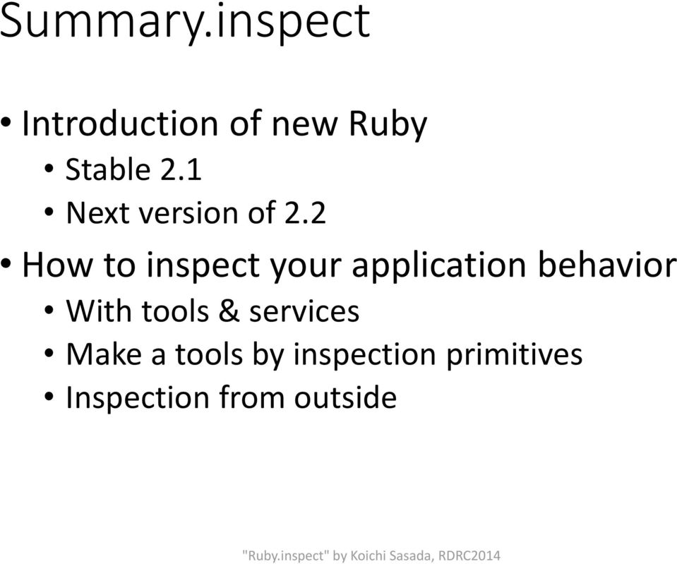 1 Next version of 2.