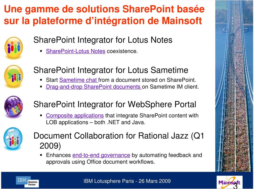 Drag-and-drop SharePoint documents on Sametime IM client.