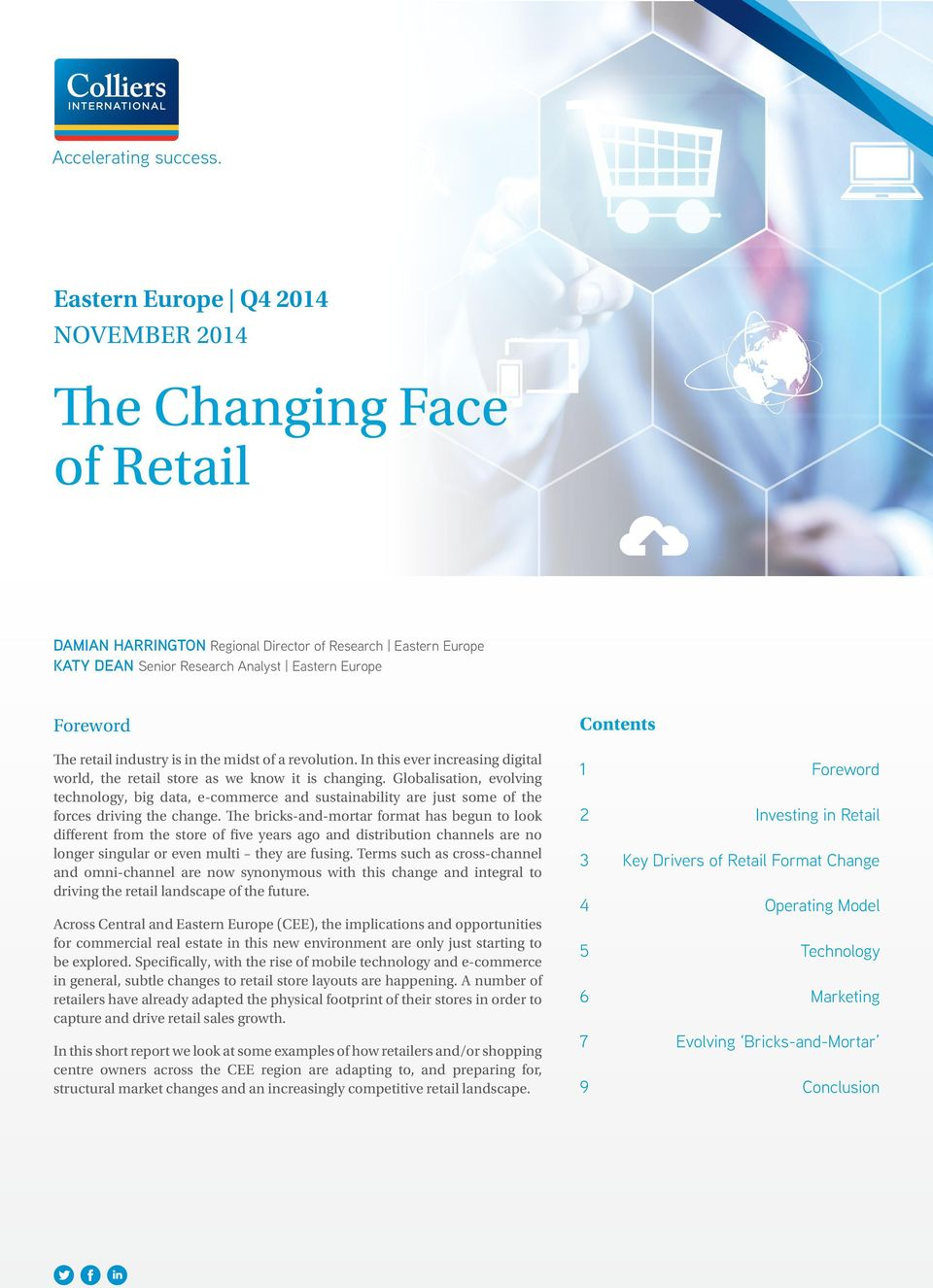 industry is in the midst of a revolution. In this ever increasing digital world, the retail store as we know it is changing.