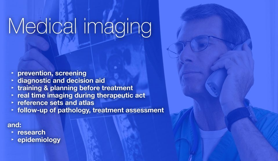 imaging during therapeutic act reference sets and atlas