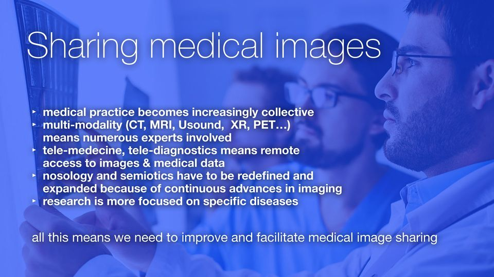 data nosology and semiotics have to be redefined and expanded because of continuous advances in imaging