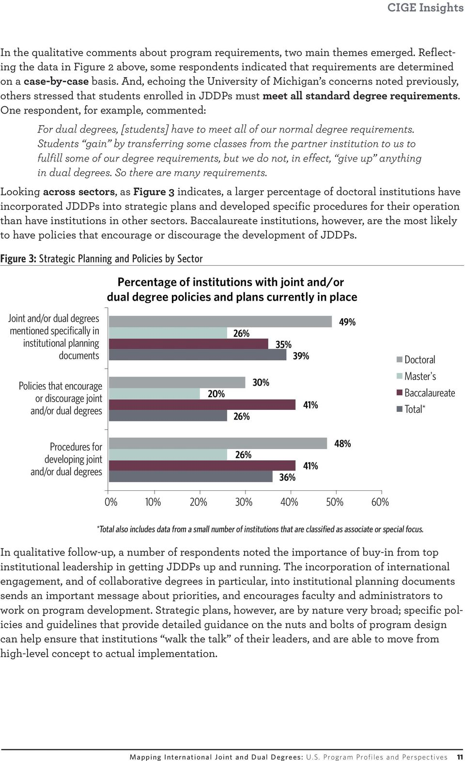 And, echoing the University of Michigan s concerns noted previously, others stressed that students enrolled in JDDPs must meet all standard degree requirements.