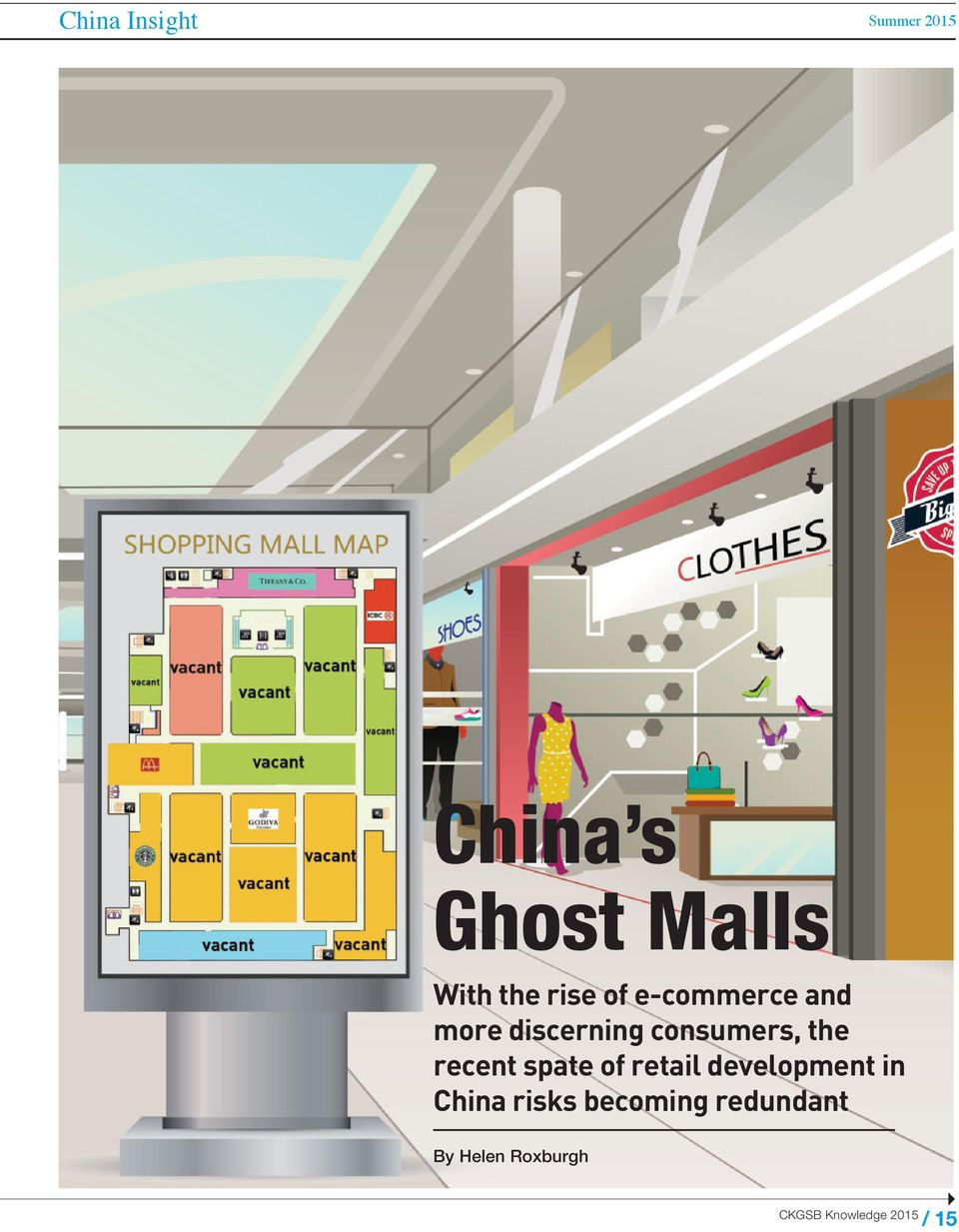consumers, the recent spate of retail development