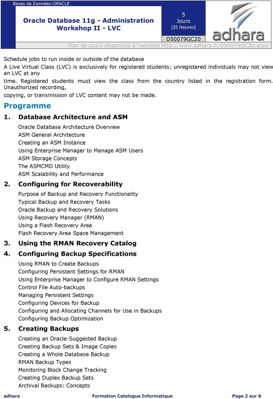 Database Architecture and ASM Oracle Database Architecture Overview ASM General Architecture Creating an ASM Instance Using Enterprise Manager to Manage ASM Users ASM Storage Concepts The ASMCMD