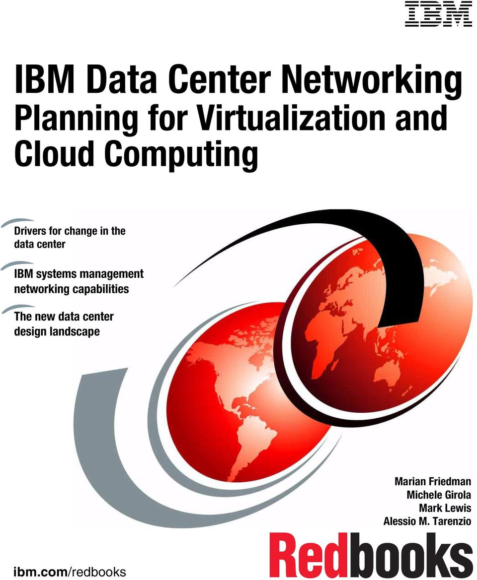 management networking capabilities The new data center design landscape