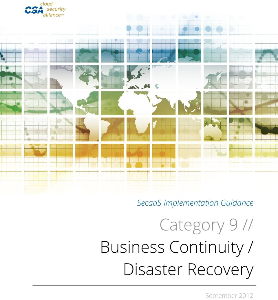 Business Continuity /