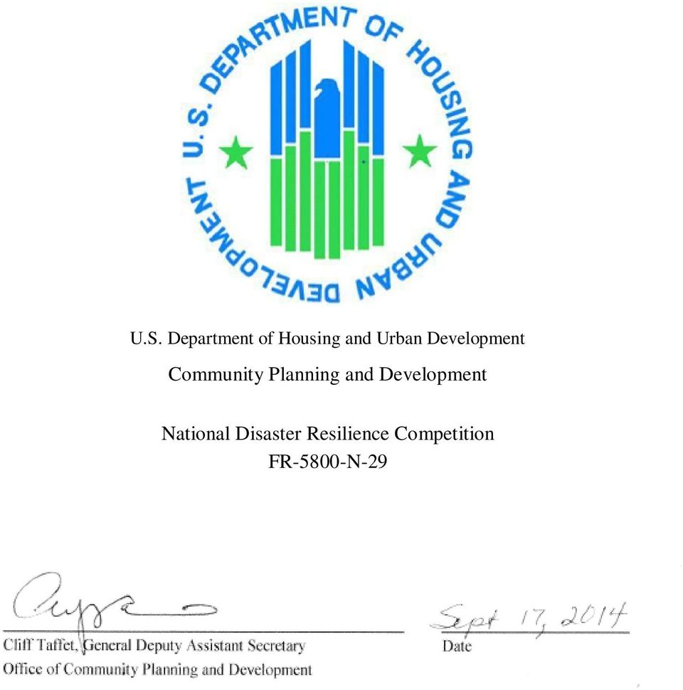 Planning and Development National