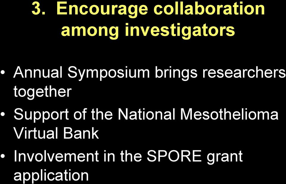 researchers together Support of the National