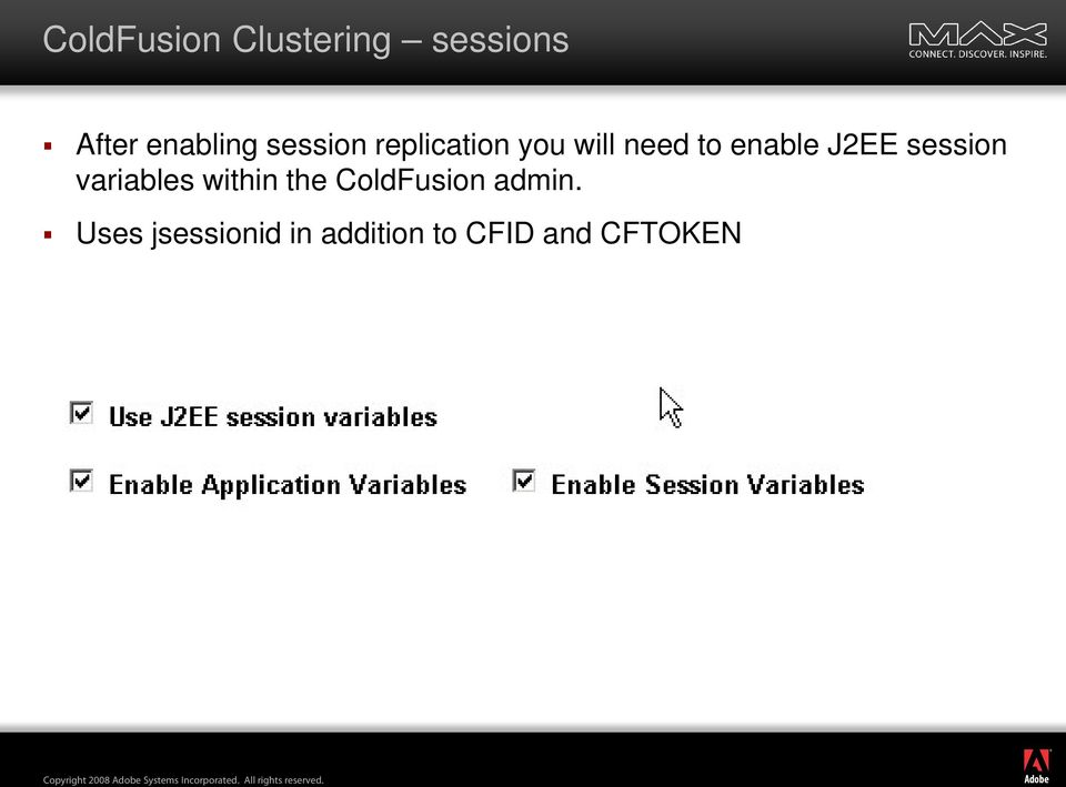 J2EE session variables within the ColdFusion