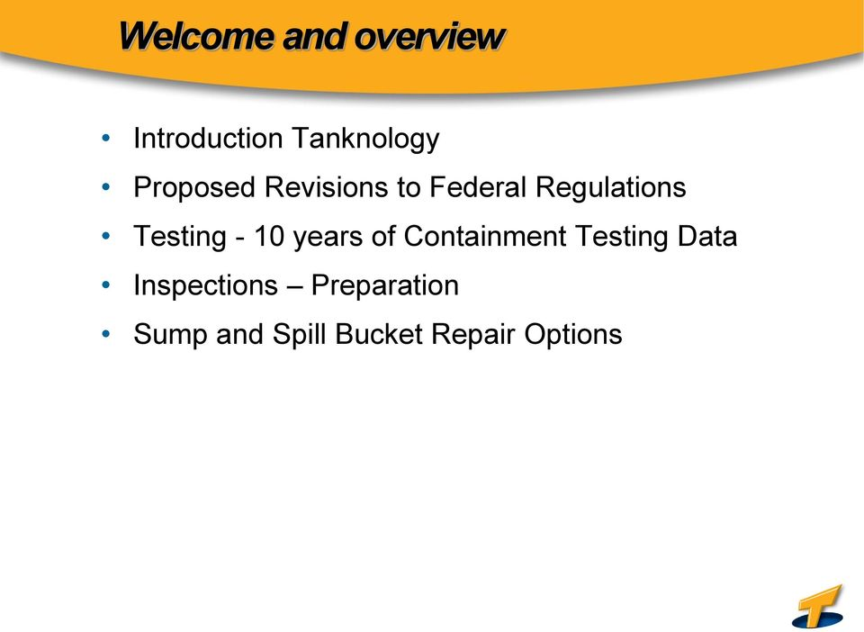 Testing - 10 years of Containment Testing Data
