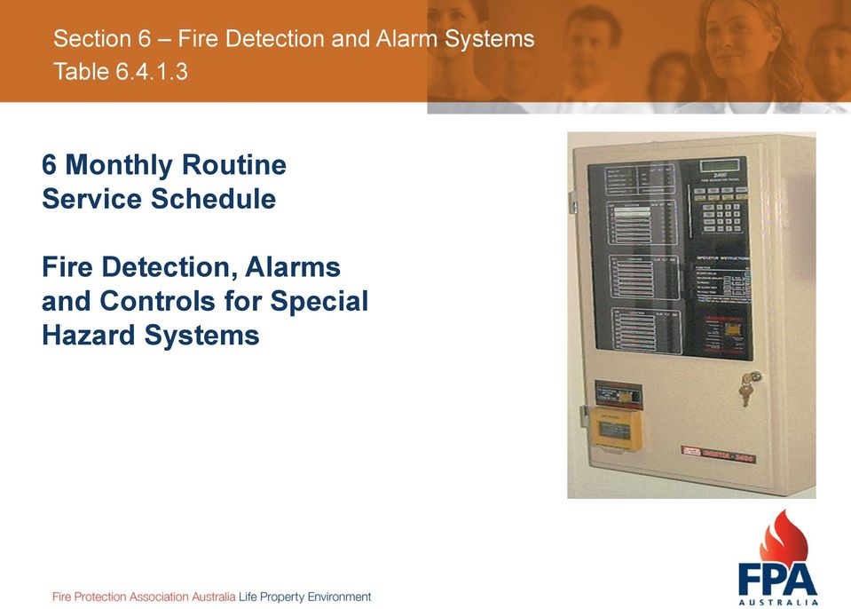 Schedule Fire Detection,